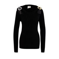 Bottega Veneta Wool Jumper Noir