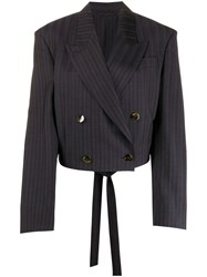 Acne Studios Cropped Fitted Blazer 60