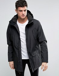 Rvca Ground Water Repellent Jacket Black