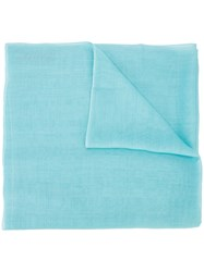Denis Colomb Classic Scarf Blue