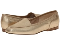 Enzo Angiolini Liberty Biscotti Suede Women's Flat Shoes Gold