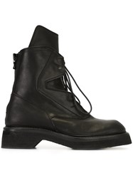 Julius Combat Boots Black