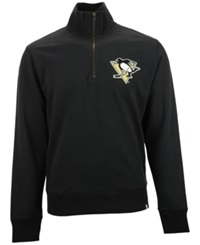 '47 Brand Men's Pittsburgh Penguins Cross Check Quarter Zip Pullover