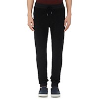 Barneys New York Men's Cotton French Terry Jogger Pants Blue