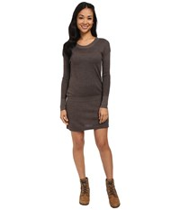Smartwool Tabaretta Sweater Dress Chocolate Heather Women's Dress Brown