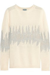 Maiyet Jacquard Knit Wool Blend Sweater
