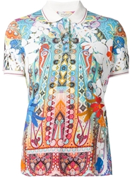 Etro Printed Polo Shirt
