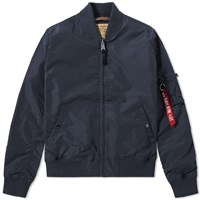 Alpha Industries Ma 1 Tt Jacket Blue