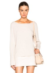 Helmut Lang Cashmere Wool Sweater In Neutrals