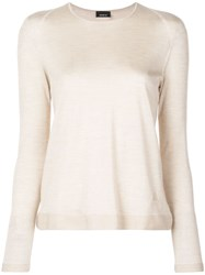 Akris Knitted Top Neutrals