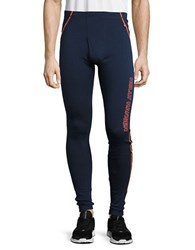 Helly Hansen Merino Wool Leggings Evening Blue