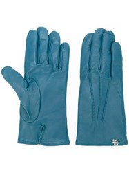 Dsquared2 Classic Gloves Blue