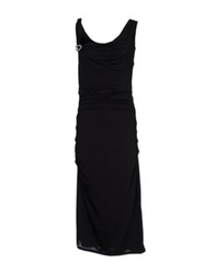 Ter De Caractere 3 4 Length Dresses Black