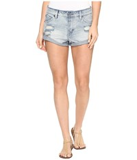 Volcom Stoned Shorts Rolled Cloud Blue Women's Shorts