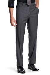 Ted Baker Jarret Grey Plaid Suit Separates Wool Trouser Gray