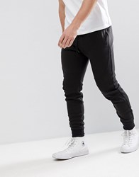 Hollister Tapered Athleisure Slim Fit Joggers In Black Black