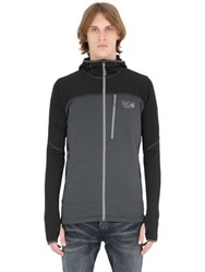 Mountain Hardwear Desna Grid Hooded Fleece Jacket