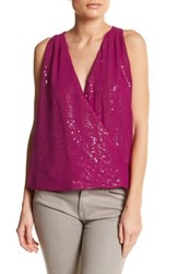 Single Dress Sarai Sequin Blouse Pink