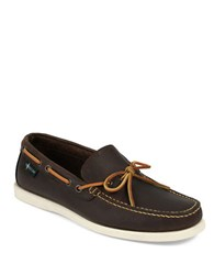 Eastland Yarmouth 1955 Leather Boat Shoes Bomber Brown