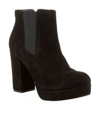 Kg By Kurt Geiger Sugar Block Heel Chelsea Boot Black