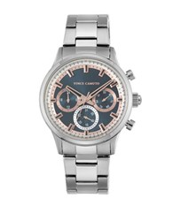 Vince Camuto Analog Asia Stainless Steel Bracelet Watch Silver