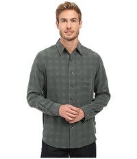 Royal Robbins San Juan Plaid Long Sleeve Shirt Green Gables Men's Long Sleeve Button Up
