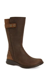 Merrell Women's 'Travvy' Waterproof Boot Clay Leather