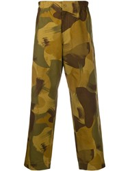 Ymc Camouflage Print Trousers 60