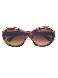 Oliver Goldsmith 'Audrey' Sunglasses Brown