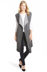 Women's Nic Zoe 'Laquered Mist' Long Knit Vest