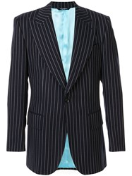 Dolce And Gabbana Pinstripe Suit Jacket 60