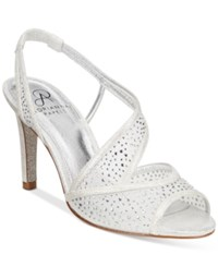 Adrianna Papell Andie Evening Sandals Women's Shoes Silver