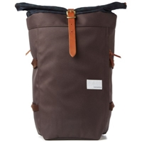 Nanamica Cycling Pack Dark Brown And Black Watch