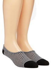 Forever 21 Men Striped No Show Socks
