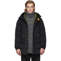 Parajumpers Black Down Skyline Shedir Jacket