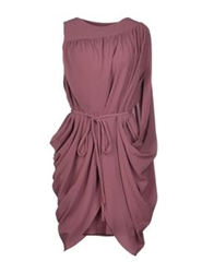 Bgn Short Dresses Mauve