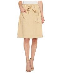 Catherine Malandrino Tyra Skirt Roasted Coconut Women's Skirt Yellow