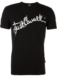 Just Cavalli Slim Fit T Shirt Black