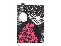 Vera Bradley Retractable Lanyard Id Case Northern Lights Credit Card Wallet White