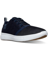 Under Armour Men's 24 7 Casual Sneakers From Finish Line Midnight Navy White Midni