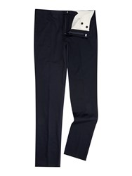 Chester Barrie Cotton Drill Trouser Navy