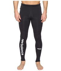 New Balance Performance Merino Tights Black Men's Casual Pants