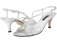Caparros Pandora Silver Metallic Women's Dress Sandals