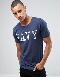 Only And Sons Navy 51 T Shirt Navy