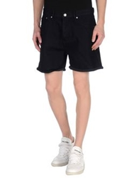 Cheap Monday Denim Shorts Dark Blue