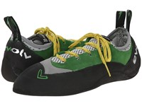 Evolv Spark Green Gray Shoes Brown