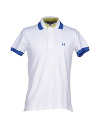 Husky Polo Shirts White