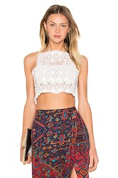 Stone_Cold_Fox Chorus Crop Top White
