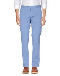 Authentic Original Vintage Style Casual Pants Pastel Blue