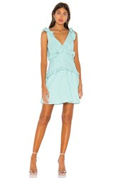 Bcbgeneration Tie Shoulder Mini Dress Green
